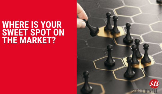 Where is your sweetspot on the market?