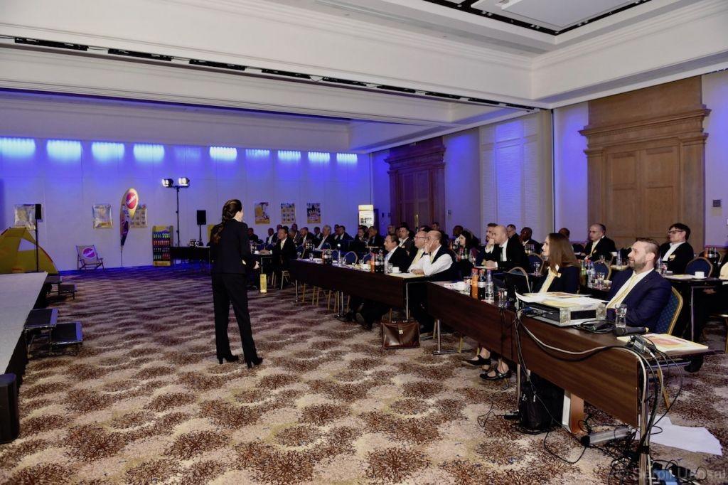 keynote speaker Serpil Uensal